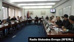 Архивска фотографија: Седница на Совет на Општина Куманово.
