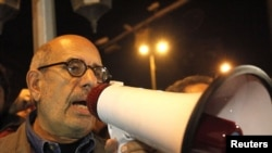 Opposition leader Muhammad ElBaradei has spoken out against the president's decree.