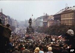 Прага, жнівень 1968 году