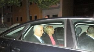 Bosnia President Zivko Budimir released from prison in Mostar on May 24.