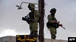 نیروهای ارتش روسیه در روستایی در نزدیک شهر حمات (حما)