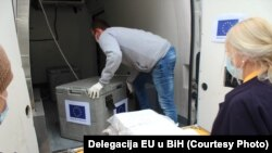 Isporuka testova na korona virus u BiH