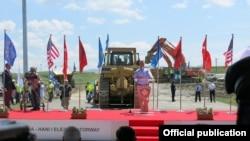 """Ceremonia e përurimit të Autostradës Prishtinë-Hani i Elezit – Autostradës """"Arbën Xhaferi"""""""