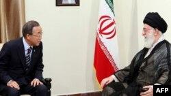 Верховный лидер Ирана аятолла Али Хаменеи 29 августа в Тегеране встретился с Генсеком ООН Пан Ги Муном