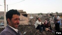 Землетрясение в иранской провинции Восточный Азербайджан унесло жизни сотен людей. 12 августа 2012 года.