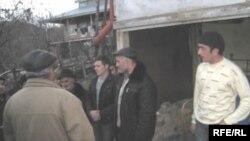 Elxan Əzizovun yas mərasimi. İsmayıllı rayonunun Zeyvə kəndi. 31 yanvar 2010