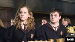 Гермиона и Гарри Поттер