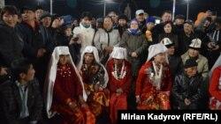 2017 жылы Қырғызстанның Нарын облысына көшіп келген Памир қырғыздары.