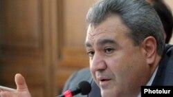 Председатель Контрольной палаты Ишхан Закарян