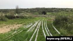 Трубопровід від річки Біюк-Карасу на Сімферополь 2 травня 2021 року