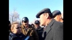 Реакция Ташиева на задержание Келдибекова