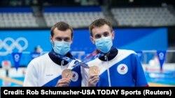 Александр Бондарь и Виктор Минибаев на Олимпиаде в Токио