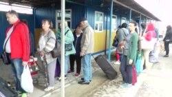 «Каланчак» снова работает: много ли людей на админгранице с Крымом? (видео)