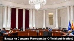 Средба на Сојуз на средношколци со премиерот Зоран Заев, пратеничката Моника Зајкова и советникот Ѓорѓи Тасев во Влада