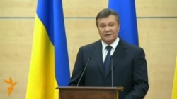 Defiant Yanukovych Says He'll Return To Kyiv