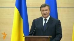 Defiant Yanukovych Says He'll Return To Kyiv