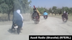 آرشیف، شماری از افراد گروه طالبان در ارزگان