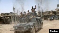 Ирачките сили на околу 250 метри од реката Тигар, Мосул, 04.07.2017.