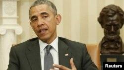 АҚШ президенті Барак Обама. Вашингтон, 15 сәуір 2015 жыл.