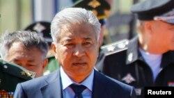 Имангали Тасмагамбетов в бытность министром обороны Казахстана.