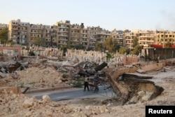 Алеппо. 6 октября 2016 года