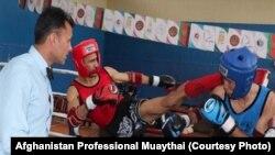 آرشیف، رقابت های موی تای در کابل. (عکس جنبه تزئینی دارد.)