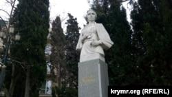 Пам'ятник Лесі Українці в Балаклаві