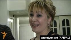 Armenia - Tamara Yeranosian, a Syrian Armenian woman, speaks to RFE/RL's Armenian service in Yerevan.