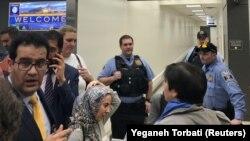 Gužva na aerodromu Dulles nakon što je Donald Trump potpisao uredbu kojom se zabranjuje ulazak državljanima sedam zemalja u SAD, Washington