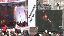 Митинг на проспекте Сахарова: Борис Немцов