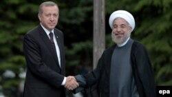 Hassan Rohani və Recep Tayyip Erdogan
