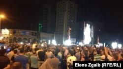 احتجاج في طرابلس على فيديو تعذيب سجناء اسلاميين