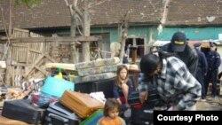 """Fotografija iz akcije Amnestija """"Zaustavimo prinudna iseljavanja u Srbiji"""""""