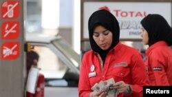 Benzinska pumpa u Kairu, ilustracija