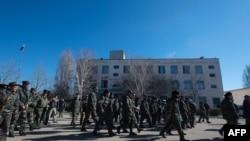 خروج نیروهای اوکراینی از پایگاه بلبک
