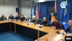 Архивска фотографија: Седница на Централното претседателство на ДУИ.