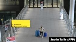 Britaniyada aeroport, arxiv fotosu