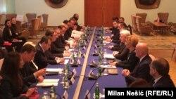 Plenarni ministarski sastanak Srbije i Crne Gore