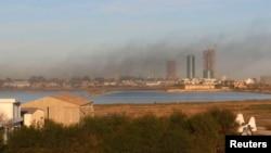 Аеродромот во Триполи.