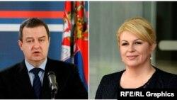 Ivica Dačić i Kolinda Grabar-Kitarović