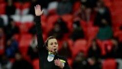 Female Soccer Referee In Ukraine Describes Groundbreaking Firsts