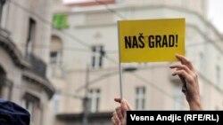 Protest protiv Beograda na vodi, ilustrativna fotografija