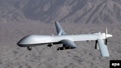The Pakistani Foreign Ministry says U.S. drone strikes in the country have caused more than 2,000 deaths since 2004. (file photo)