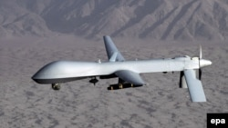 A MQ-1 Predator drone aircraft (file photo)