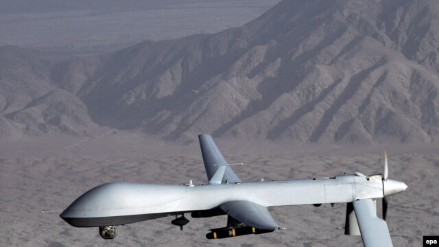 The MQ-1 Predator drone.