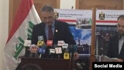 په کابل کې د عراق سرپرست سفیر فرزدق زهیر العلایي.