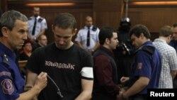 Ekstremistët e krahut tlë djathtë në gjykatë në qytetin Ostrava në vitin 2010