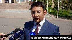 Әнуар Жайнақов, Сыртқы істер министрлігінің баспасөз хатшысы. Астана, 25 шілде 2017 жыл.