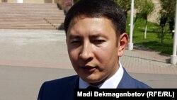 Пресс-секретарь министерства иностранных дел Казахстана Ануар Жайнаков.