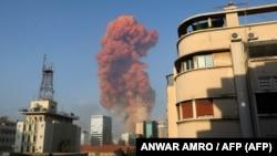 Силната експлозија во Бејрут